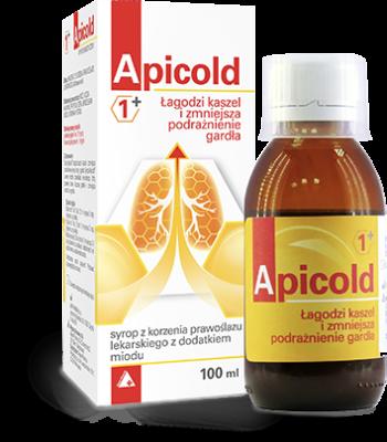 Apicold® 1+ SYROP NA KASZEL