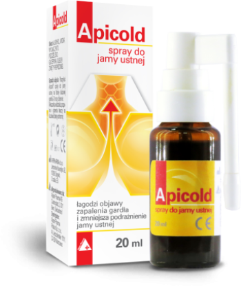 Apicold® spray spray do jamy ustnej