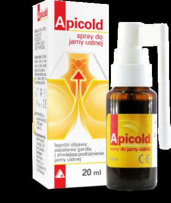 Apicold® spray spray do jamy ustnej